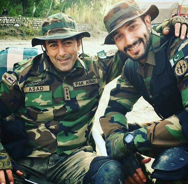 Shaan & Bilal From The Sets Of Yalghaar