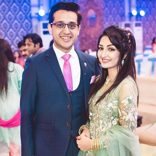 Shafaat Ali With His Wife