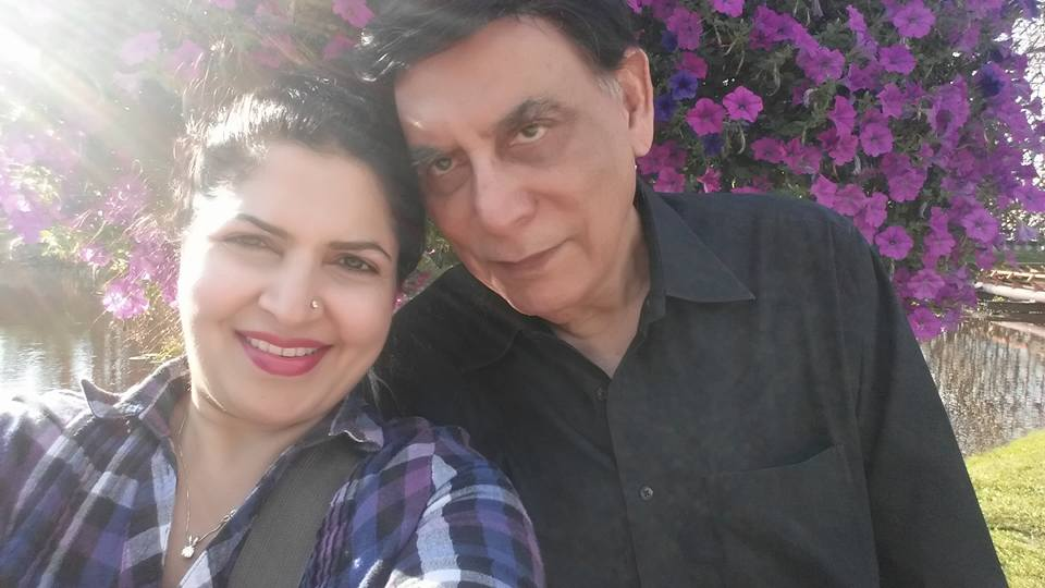 Shagufta Ejaz With Her Husband