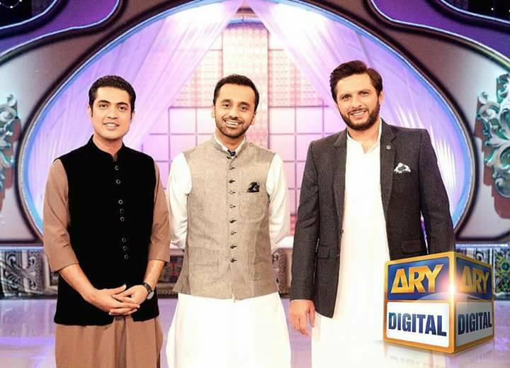 Shahid Afridi Will Be Live On ARY With Waseem Badami