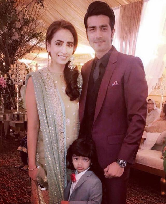 Shahzad Sheikh With His Wife & Son