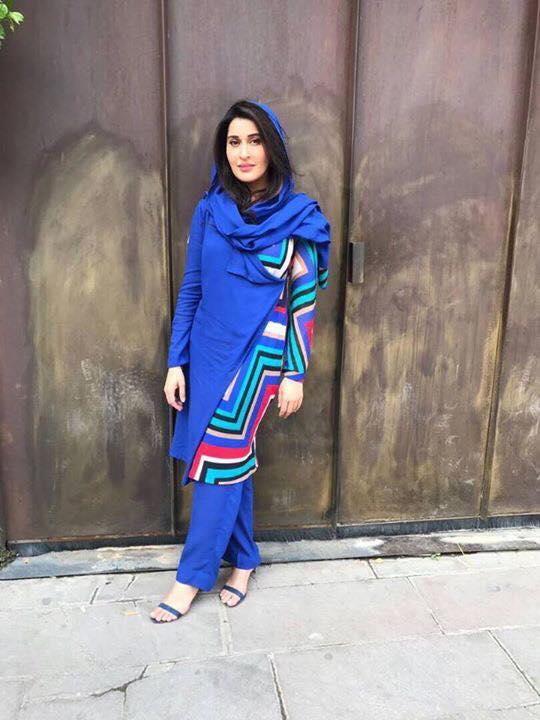 Shaista Lodhi In Turkey Recording Ramzan Special