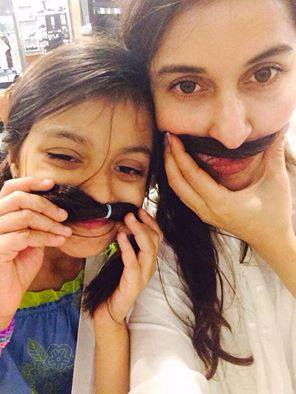 Shaista Lodhi Latest Pic With Her Daughter