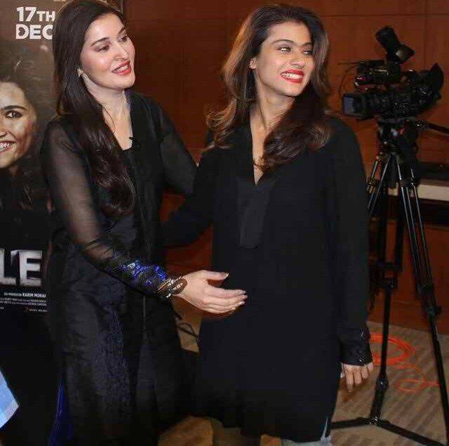 Shaista Lodhi With Kajol In Dubai For Recording of Morning Show