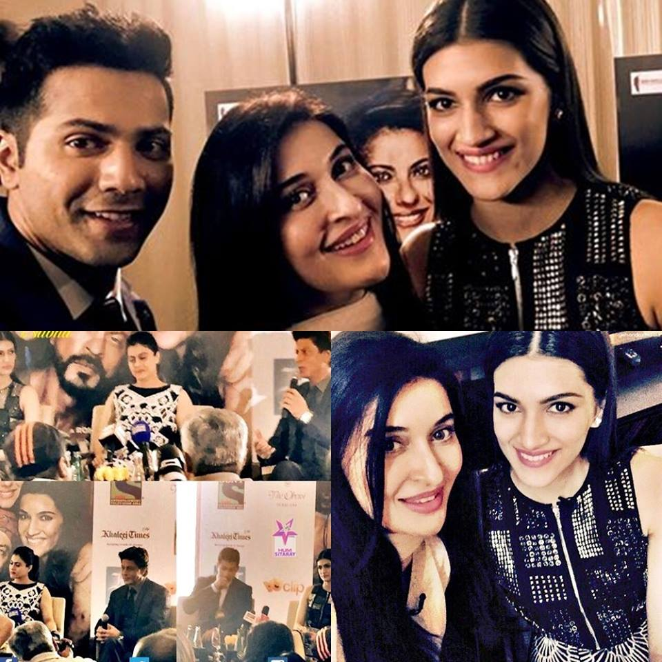 Shaista Lodhi hosted show with Star Cast of Dilwale