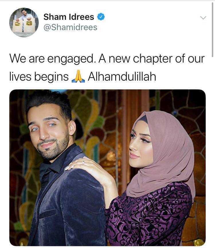Sham Idrees Tweets About His Engagement