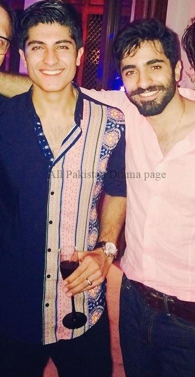 Sheheryar Munawar Siddiqui With His Younger Brother