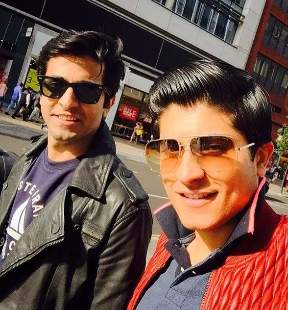 Sheheryar With Younger Brother In London