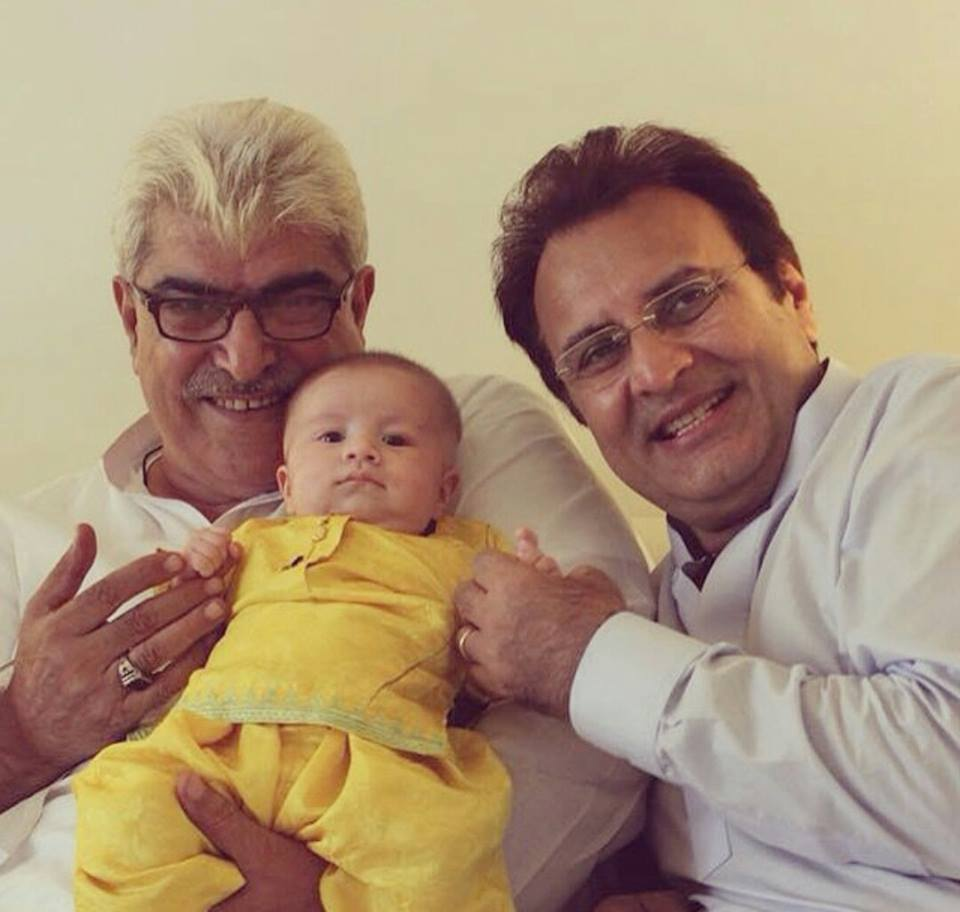Shehroz And Syra Daughter Nooreh With Her Nana And Dada