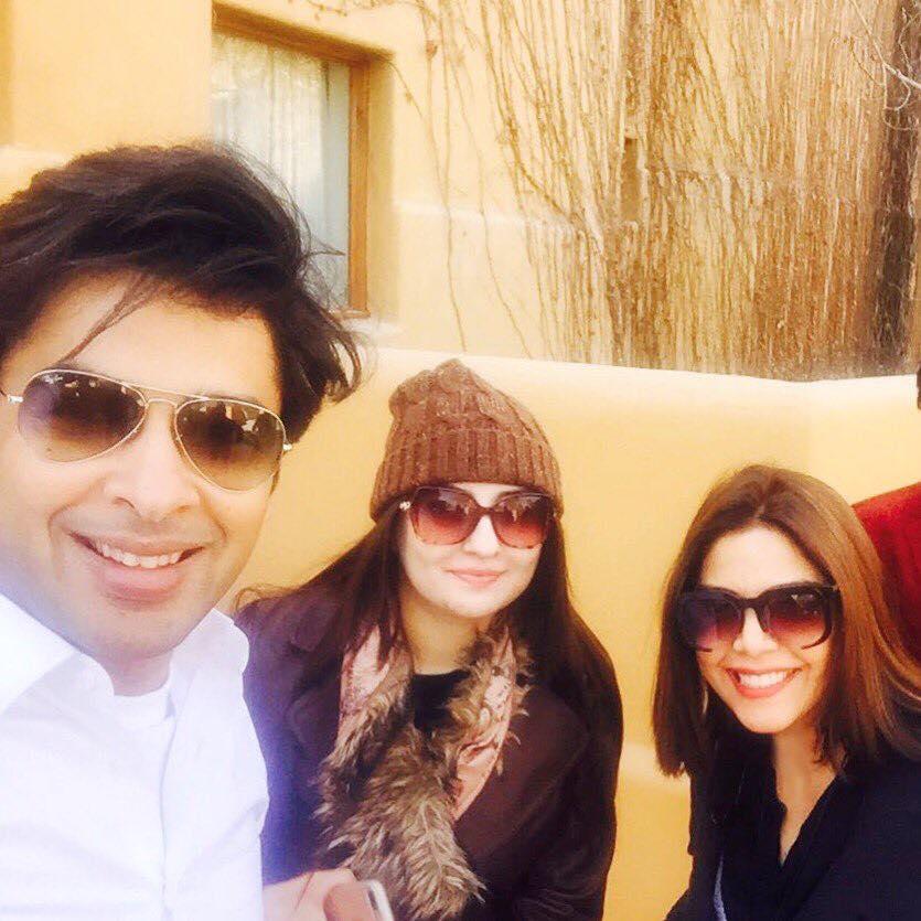 Shehzad Roy, Gul Panra And Hadiqa Kiani