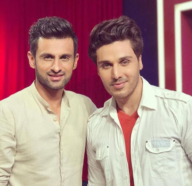 Shoaib Malik With Ahsan Khan