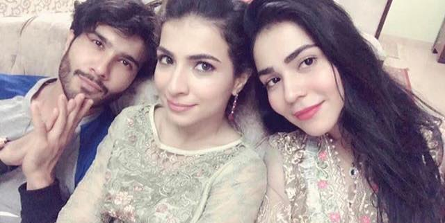 Siblings Feroze Khan, Dua & Humaima Malik