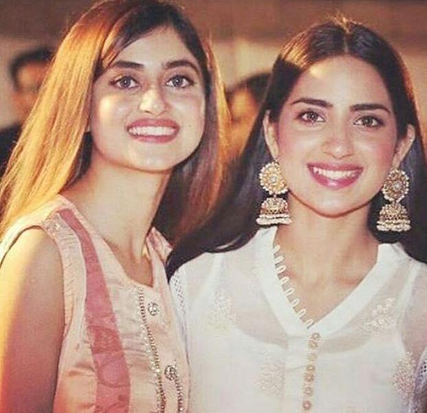 Sisters Sajal & Saboor Ali
