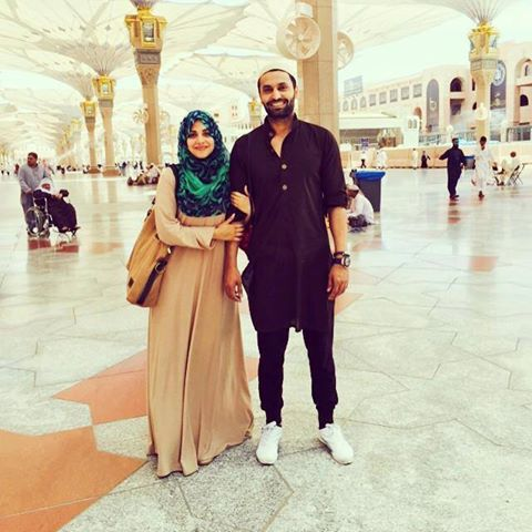 Soniya Hussain With Her Husband Wasif Performed Umrah