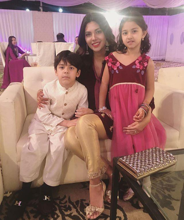 Sunita Marshal With Her Kids