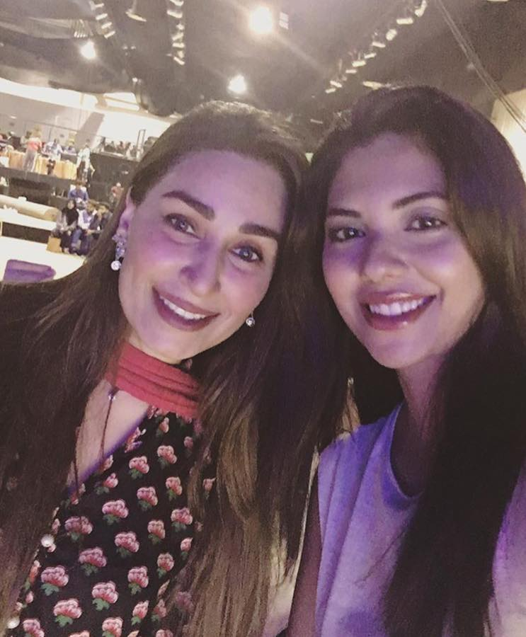 Sunita Marshall Spotted With Reema Khan