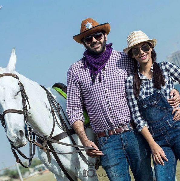 Sunita Marshall With Hassan Ahmed