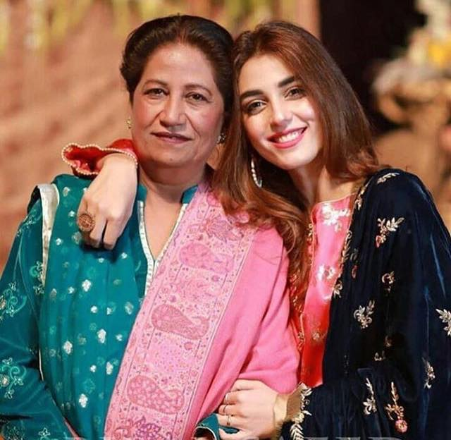 Super Adorable Click Of Maya Ali With Her Mother