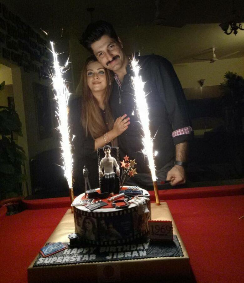 Syed Jibran Celebrating His Birthday With His Wife