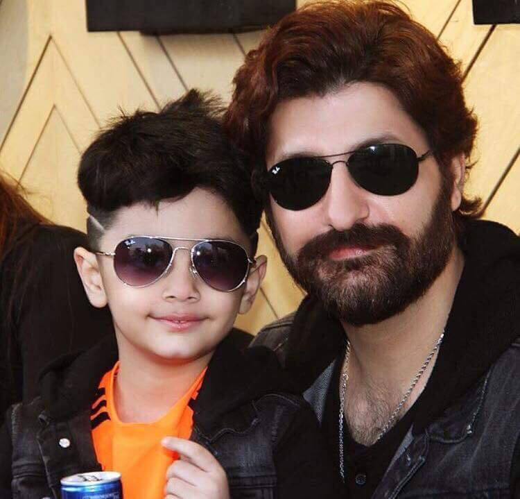 Syed Jibran With His Son