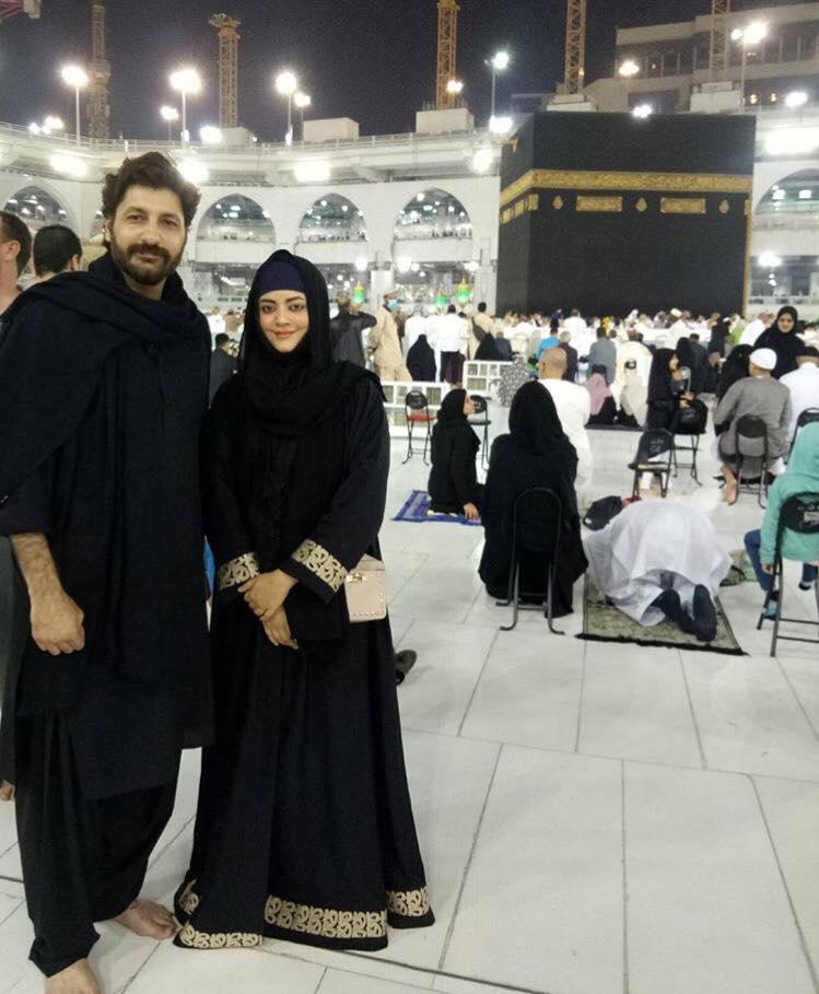Syed Jibran & Afifa Jibran In Makkah