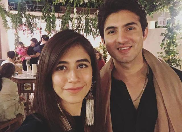 Syra & Shahroz At A Family Event