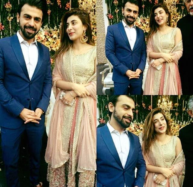 The Newly Weds Urwa & Farhan Spotted At Valima