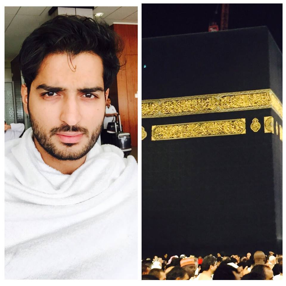 Top Model Of Pakistan Omar Shahzad Performed Umrah
