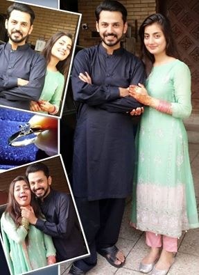 Uroosa And Bilal Qureshi On Eid
