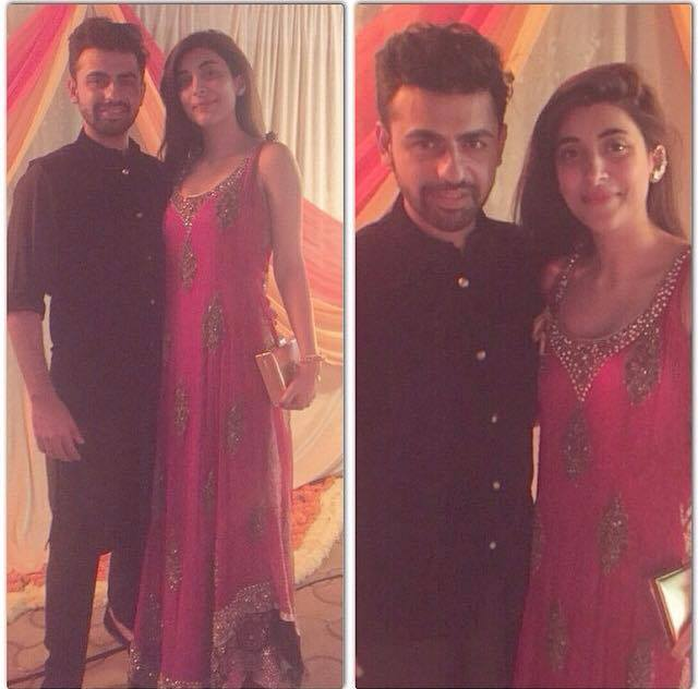Urwa And Farhan Spotted In Wedding Ceremony