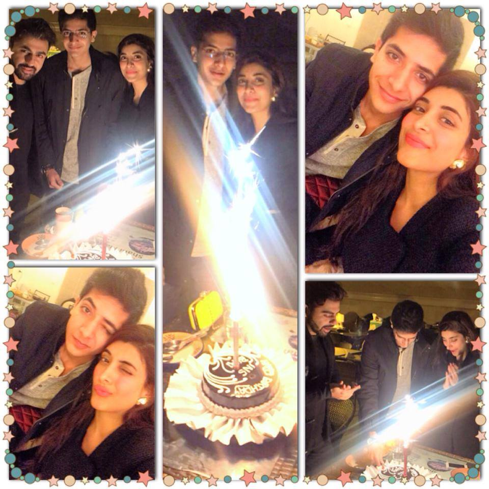 Urwa Celebrate Her Brother