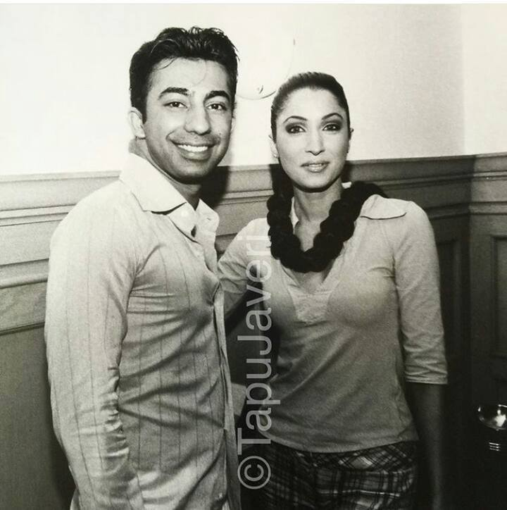 Vaneeza With HSY Old Photo