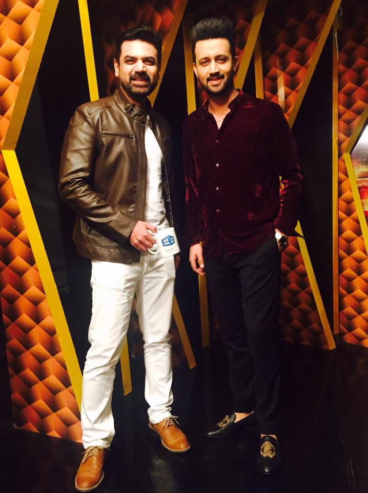 Vasay Chaudry with Atif Aslam on