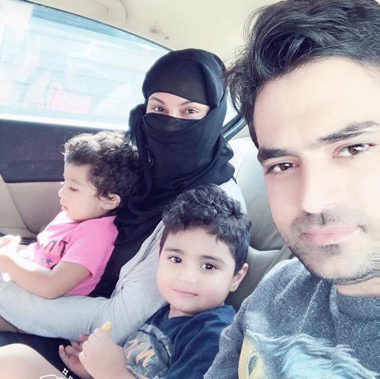 Veena Malik With Her Family