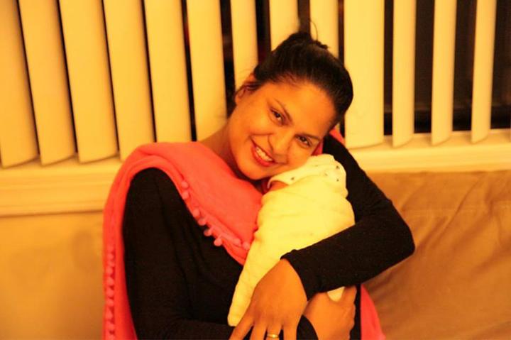 Veena Malik With Her Son Abram