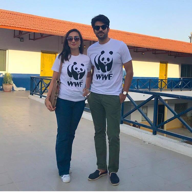 WWF Ambassadors Anoushey Ashraf & Adnan Malik