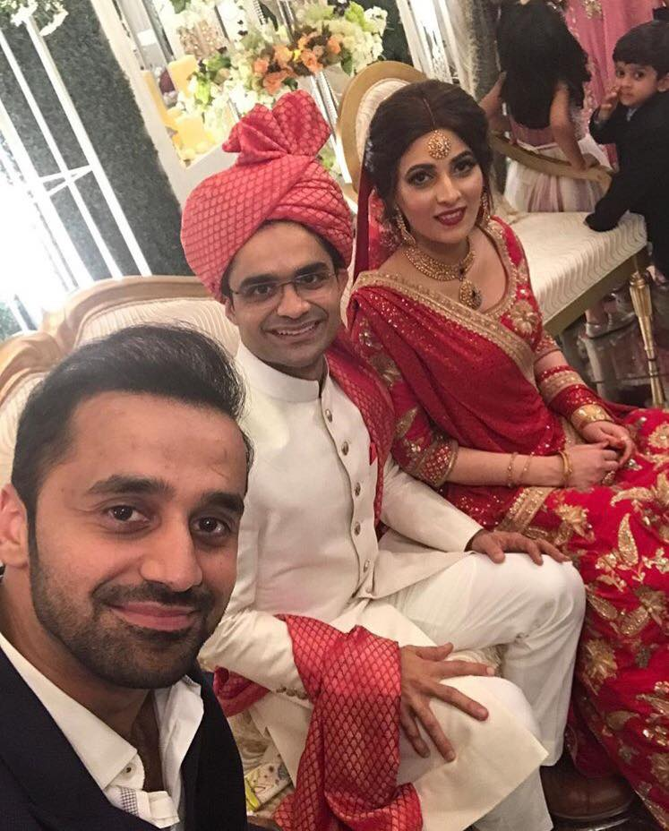 Waseem Badami With Shahzeb Khanzada On His Wedding
