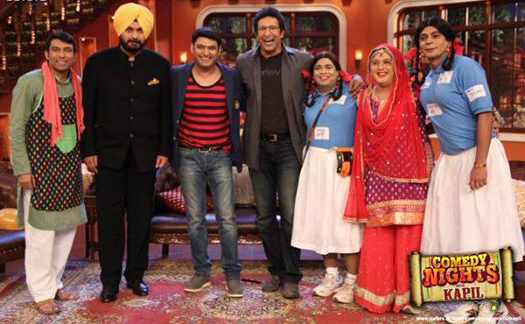 Wasim Akram on Comedy Nights With Kapil