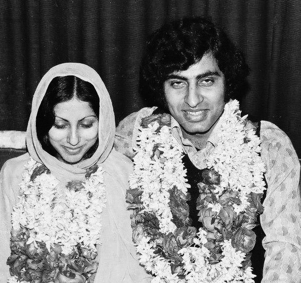 Wedding Picture  Of Usman Peerzada & Samina Peerzada (1975)