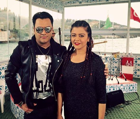 Yasir Akhtar with Maria Wasti in Turkey for Interview