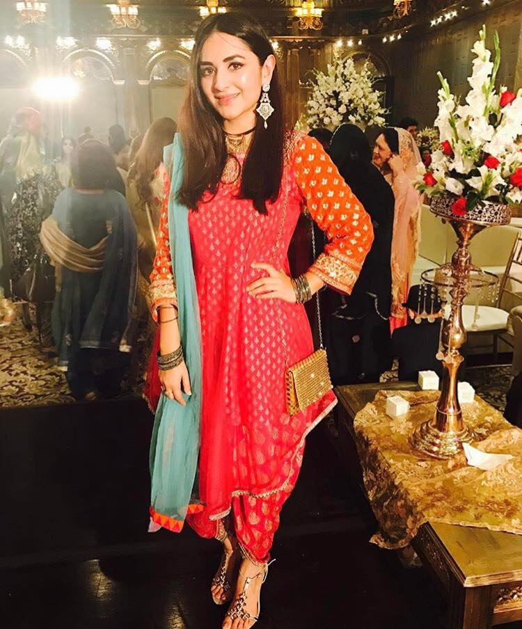 Yumna Zaidi At A Wedding