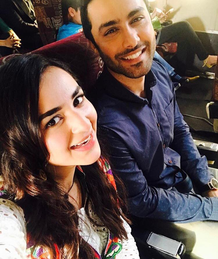 Yumna Zaidi With Ahmed Ali Akbar