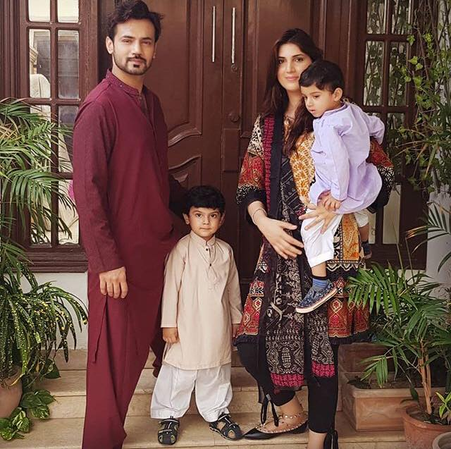 Zahid Ahmed Celebrates Eid With His Family