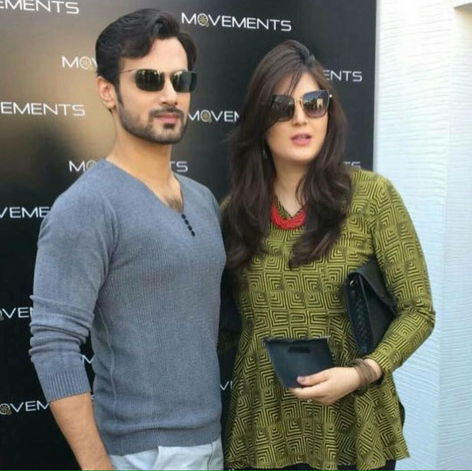 Zahid Ahmed Spotted With His Wife