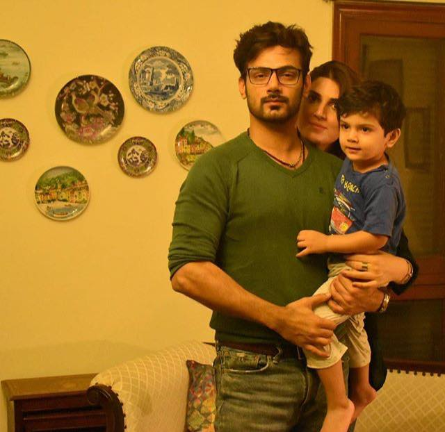Zahid Ahmed's Adorable Family Click