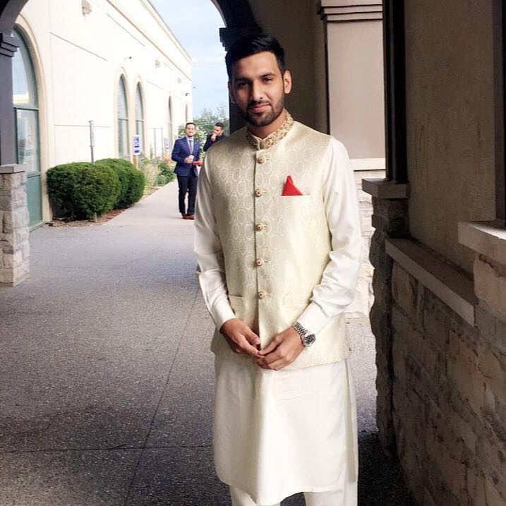 Zaid Ali On His Nikkah Ceremony