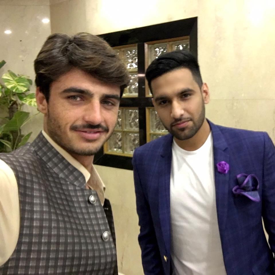 Zaid Ali With Famous Arshad Chai Wala
