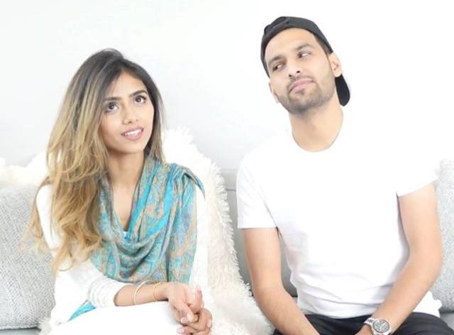 Zaid Ali With His Wife Yumnah