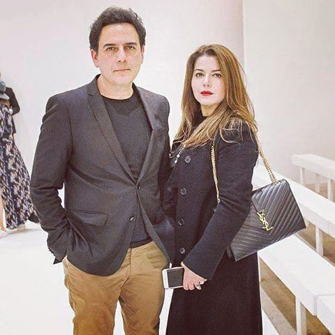 Zoheb Hassan & His Wife At A Recent Fashion Event In London