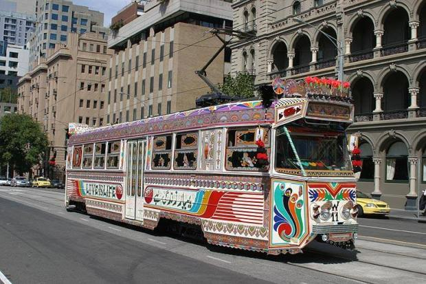 Australia Using Design Of Pakistani Buses